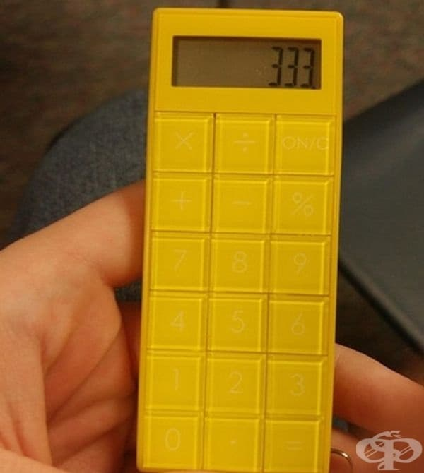 Един не лош дизайн за калкулатор!