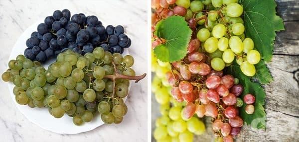 Гроздето също е горски плод.
