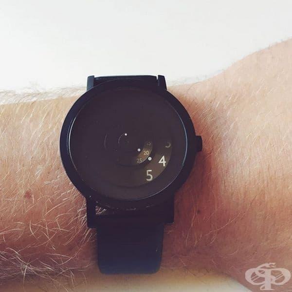 Този часовник показва това, което е нужно.