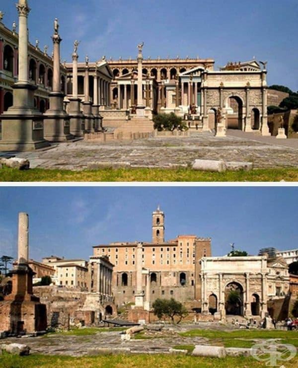 Римски форум на Свещения път