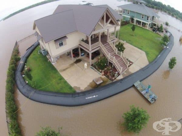 Когато вашият застрахователен план не покрива наводнение.