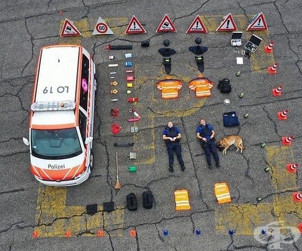 Полиция в Швейцария
