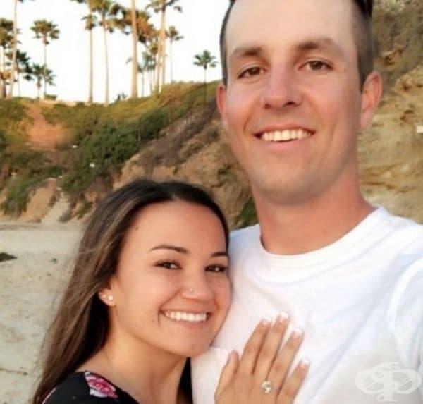 Този човек предпази момичето от стрелба в Лас Вегас. Така се запознават и скоро след това се сгодяват. Сватбата е определена за това лято.