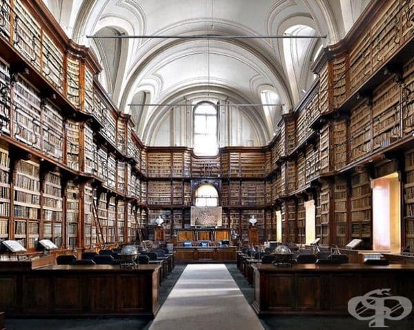 "Библиотека ""Ангелика"", Рим, Италия."