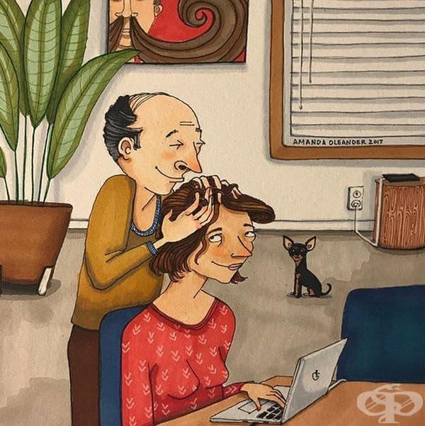 25 илюстрации разкриват истинската страна на дълготрайните връзки