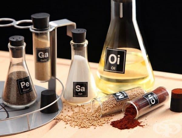 Този набор от химични подправки ще превърне вашата кухня в лаборатория.