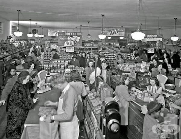 Хранителен магазин Kroger, Лексингтън, Кентъки, 1947 г.