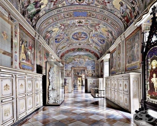 Ватиканската апостолическа библиотека.