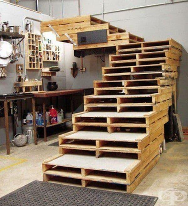 35 идеи за оригинално обзавеждане с помощта на дървени палети