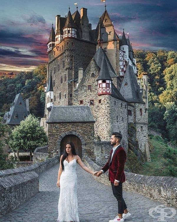 Замъкът Burg Eltz, Германия