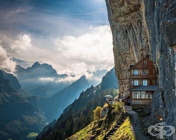Магичен хотел в Швейцария