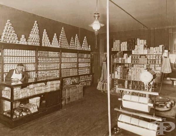 Магазин в Чикаго, 1920 г.