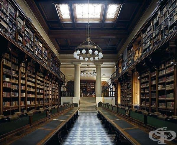 """Библиотека """"Кройцер"""", Рим, Италия."""