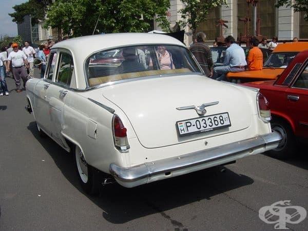 """1962 ГАЗ-21 """"Волга"""" трета серия (СССР)."""