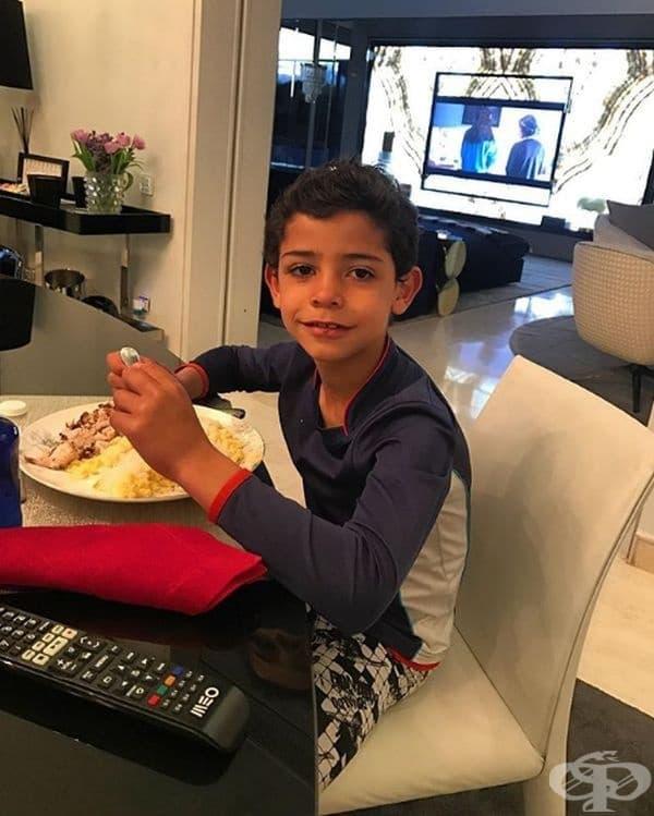 Кристиано Роналдо Джуниър, 7 години