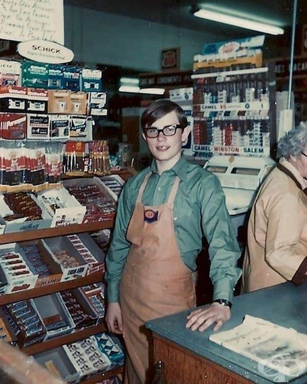 Малък магазин в Югоизточна Айдахо, 1972 г.