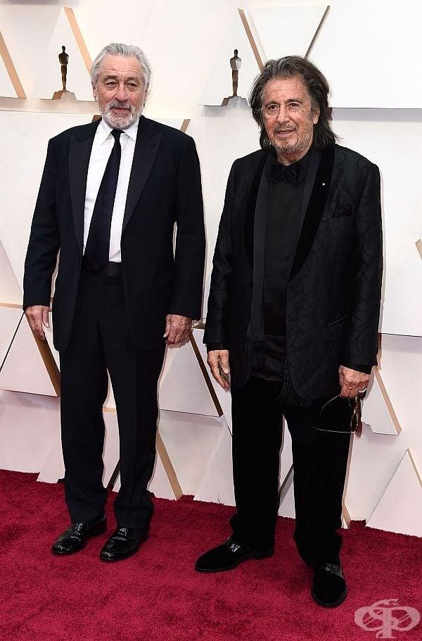 Робърт Де Ниро и Ал Пачино, снимка: Джордан Щраус