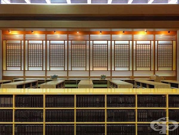 Публичната библиотека на Тайпей, Тайван.