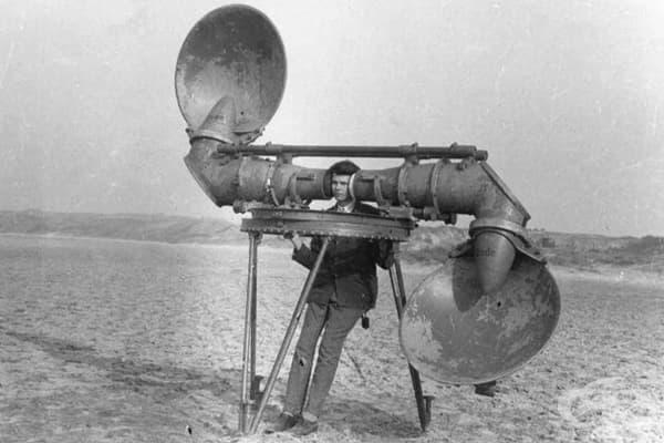 Преди радарите самолетите са засичани така