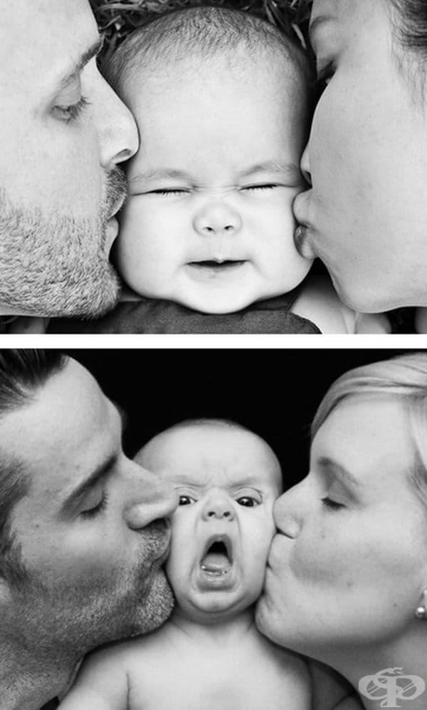 Не обича целувки от двете страни едновременно.