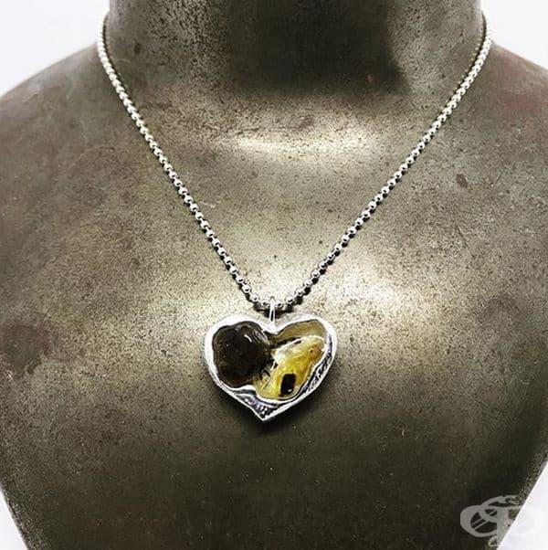 Всяко бижу може да бъде изработено в различна форма: сърце, цвете,...