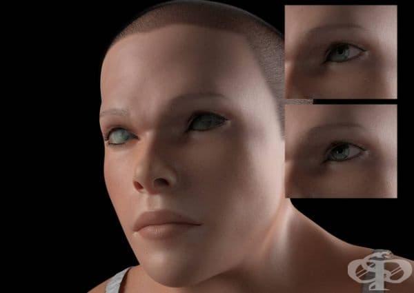 Двойни клепачи, които да предпазват очите от вредните лъчения. Вътрешният клепач ще предпазва очите ни от прекомерното излагане на светлина, излъчвана от техническите устройства.