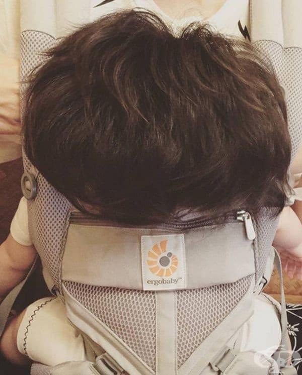Погледната в гръб прилича на 2-годишно дете, но всъщност тя е на 6 месеца.