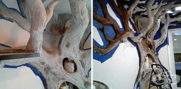 Мъж изработва дървета за котки в домовете, а резултатите са впечатляващи