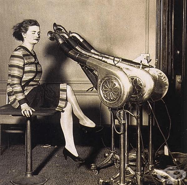 Винтидж сешоар, към който е страшно да се доближи човек, 1920 г.