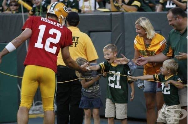 """""""Надявам се всички спортни личности да осъзнаят въздействието, което имат върху децата."""""""