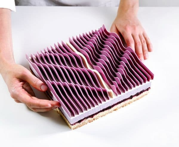 Геометрична кинетична торта № 2.