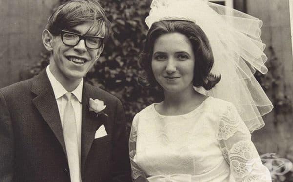 Запознава се с Джейн Уайлд и се жени на 23-годишна възраст.