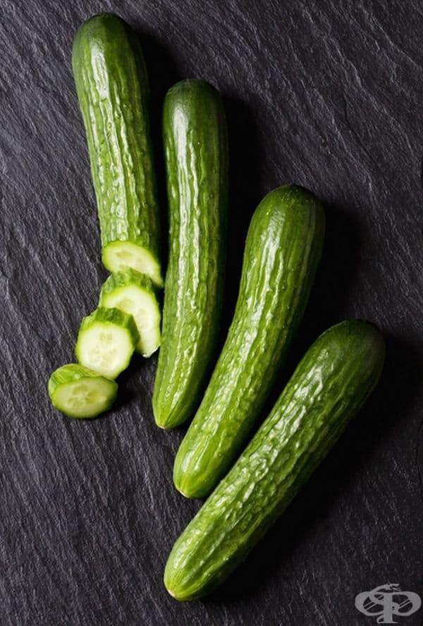 Краставици. Те съдържат малко калории и са отлична храна за всеки ден. Консумирайте ги с кората, в която се съдържат фибри, за по-дълготрайна ситост.