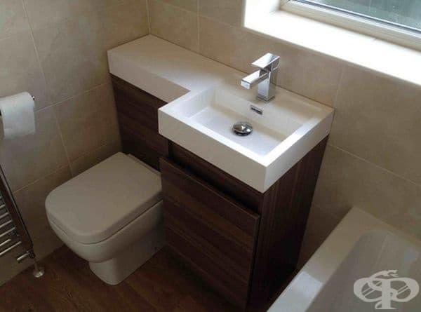 Малката баня може да се събере всичко необходимо, ако е проектирана правилно.