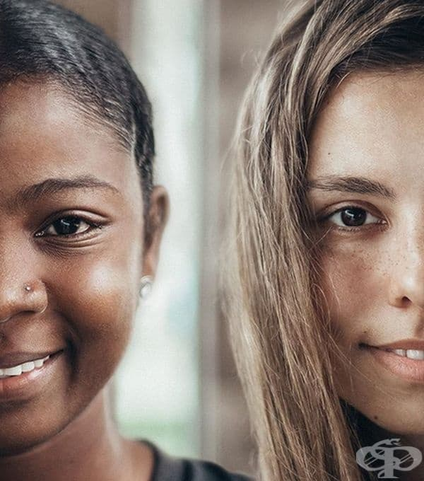 И няма значение какъв е цветът на кожата ни...