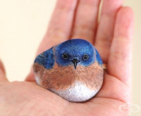 Синя птица.