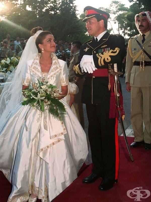 Принцеса Рания (днес Кралица на Йордания), 1993 г.
