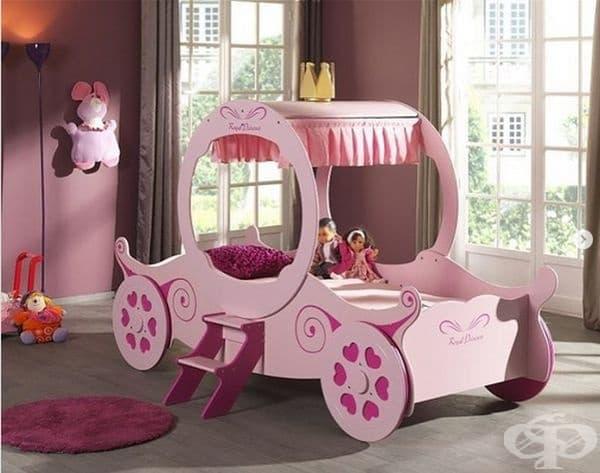 Спалня за истински принцеси.