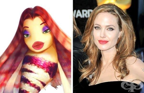 "Лола и Анджелина Джоли - ""История с акули"""