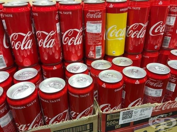 Кока - кола, за която не е стигнало червеното.
