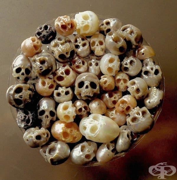 Перли - черепи.