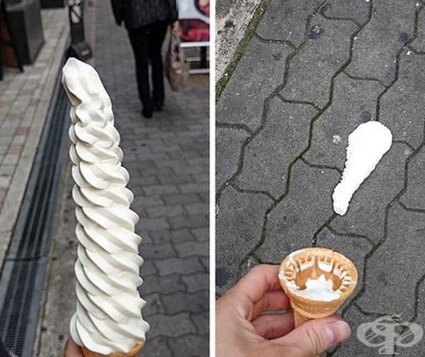 """""""Това е най-якия сладолед, който съм опитвал. Беше!"""""""