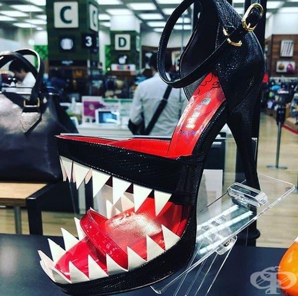 Обувки за истински хищници.