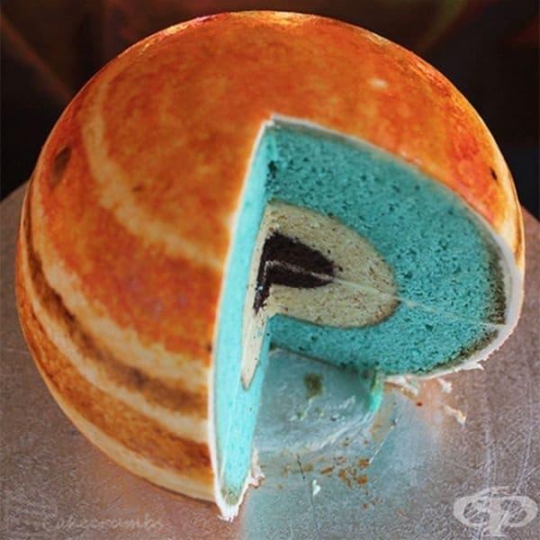 """Торта """"Планета""""."""