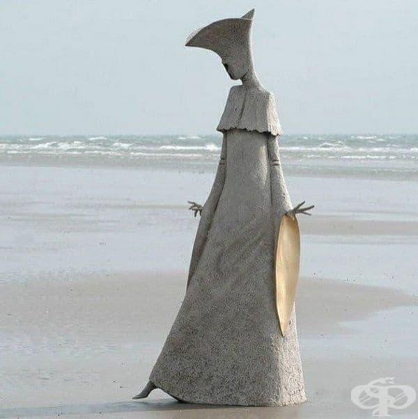 """""""Сарабанд"""" (Швейцария): """"Моите скулптури представляват импресионистично представяне на фигурата"""", казва скулпторът Филип Джаксън. Той е известен със своя уникален стил, свързан с акцентирането върху """"езика на тялото""""."""