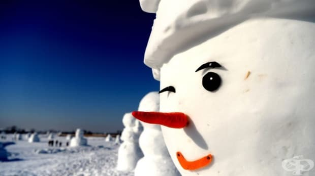 2018 снежни човеци посрещат посетители в китайското градче Харбин