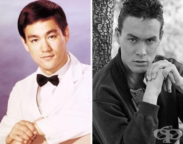 """Брус Лий и Брандън Лий споделят обща съдба. И двамата умират на снимачната площадка: бащата на 32-годишна възраст при заснемането на """"Смъртоносна игра"""", а синът на 28-годишна възраст в """"Гарванът""""."""