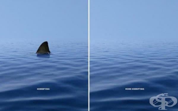 За Световния фонд за опазване на природата. (Агенция: DDB & CO, Истанбул, Турция). Страшно. Още по-страшно.