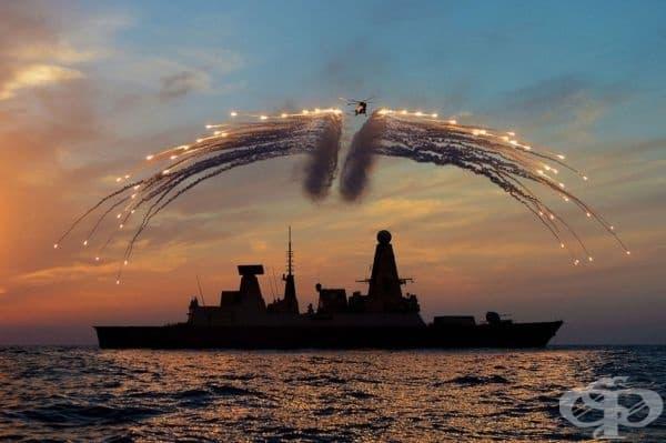 Кралските военноморски сили празнуват във Великобритания.