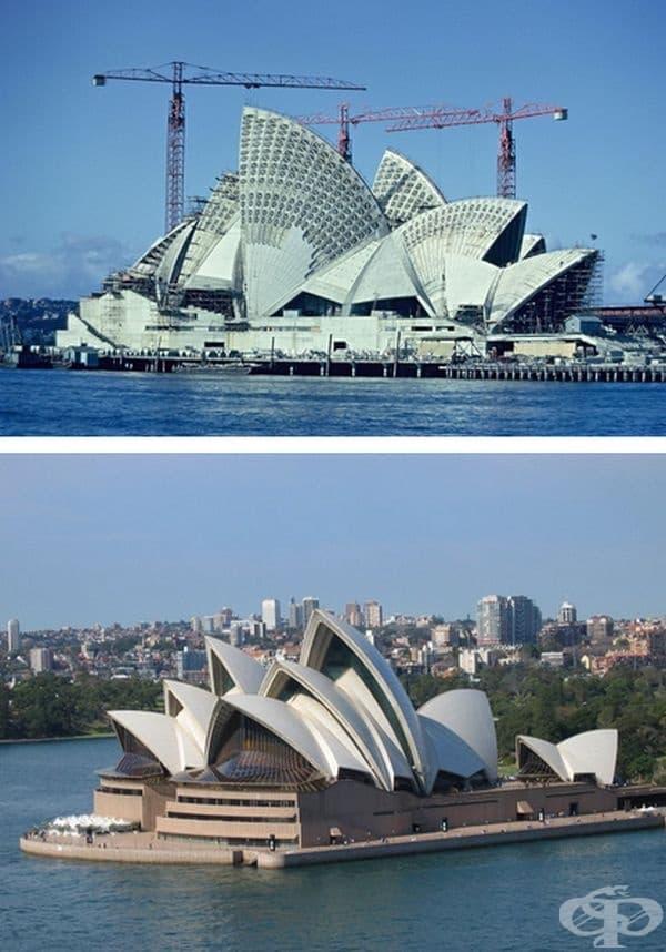 Операта в Сидни, Австралия. Строителство: 1959-1973 г.